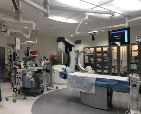 Hybridsalen, en sal där man kan kombinera moderna röntgenteknik med operation